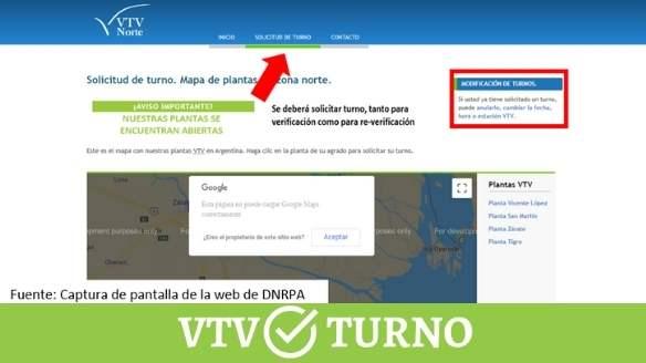 cancelar turno vtv